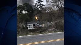 Officials: Small Plane Crashes Into Home in Atlanta Suburb
