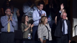 Sanders Brothers' Emotional Moment at Dem Convention