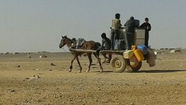 Syrians Stranded on Jordan Border With No Food, Little Water