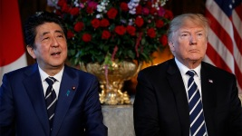 Trump Says US and NKorea Talking at 'Extremely High Levels'