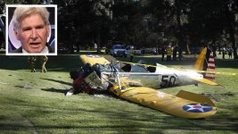 Harrison Ford Hurt in Plane Crash on Golf Course