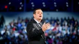 Presidential Candidate Ted Cruz Speaks in NH