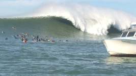 Mavericks Surf Contest on Hold Due to Super Bowl Blackout