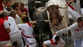 Spain: 2 Americans, 1 Briton Gored in 1st Pamplona Bull Run