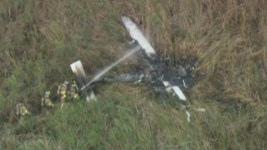 Small Plane Crashes in Palm Beach County