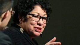 Supreme Court Justice Sotomayor Breaks Shoulder in Fall