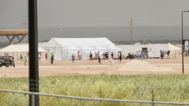 First Look at Texas Migrant Children Detainment Center