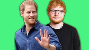Prince Harry Teases Project With Fellow Redhead Ed Sheeran