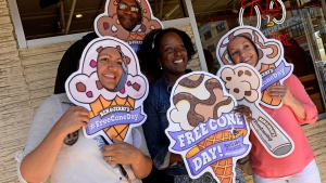 Ice Cream is the Latest Free Spring Treat