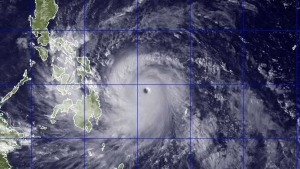 """""""Most Powerful Storm Ever to Make Landfall"""" Slams Philippines"""