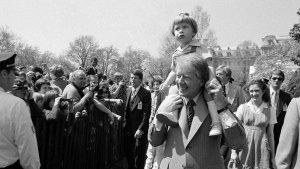 Scenes From Historic Presidential Easter Egg Rolls