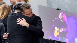 Brad Pitt, Pharrell Among Mourners at Chris Cornell Memorial