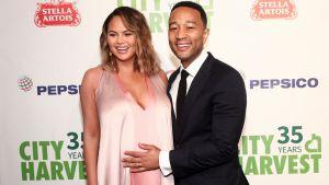 Chrissy Teigen and John Legend Introduce Newborn Son