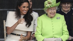 Duchess Meghan Steps Out With Queen for the First Time