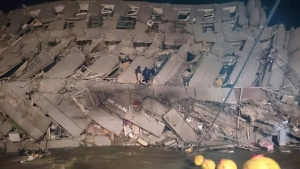 6.4M Earthquake Hits Taiwan, Reports of Buildings Collapsed
