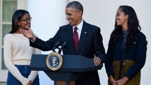 Obama: Holiday Means Food, Football, and Not-Dry Turkey