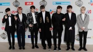 BTS' Agency Apologizes for Atom-Bomb Shirt, Nazi-Emblem Hat