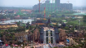 Chinese Developer Opens Wanda City Theme Park
