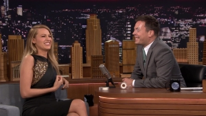 "Blake Lively Plays ""Say Anything"" With Jimmy Fallon"