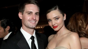 Miranda Kerr Marries Snapchat's Evan Spiegel