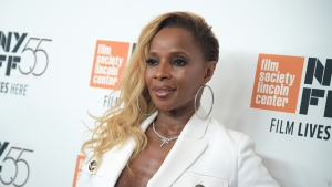 Mary J. Blige Thrilled at Becoming Double Oscar Nominee