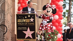 Hooray! Minnie Mouse Gets Star on the Hollywood Walk of Fame
