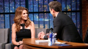 'Late Night': Cindy Crawford Debunks Modeling Myth