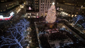 Photos: Rockefeller Center's Tree Lighting Ceremony