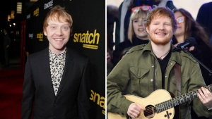 Rupert Grint: Ed Sheeran Is Just a Fake Character