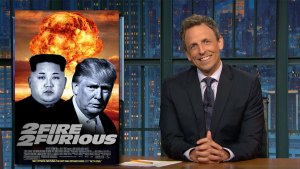 'Late Night': Closer Look at Trump Doubling Down on N. Korea