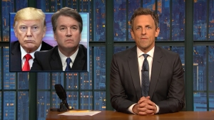 'Late Night': A Closer Look at GOP's Push for Kavanaugh Vote