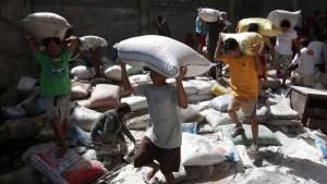 Growing Desperation: Looting, Gunfire in Typhoon-Ravaged City