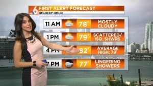Saturday Forecast: Cloudy, Some Showers