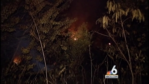 Hialeah Brush Fire Still Not Completely Contained