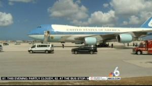 Preps Underway for Obama S. Fla. Visit