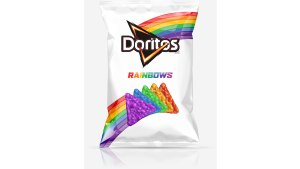 Doritos Makes Rainbow Chips for LGBT Cause