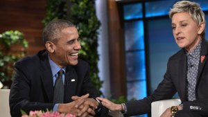 See It: Ellen Pays Final Tribute to President Obama
