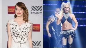 Emma Stone Does a Killer Britney Spears Impression