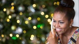 Michelle Obama Joins NORAD's Santa Tracking Effort