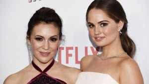 Alyssa Milano, Debby Ryan Talk 'Insatiable' and Fat Shaming