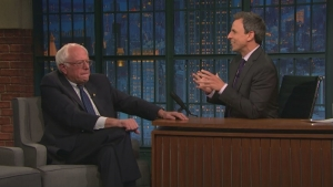 'Late Night': Sanders Explains Supporting Clinton