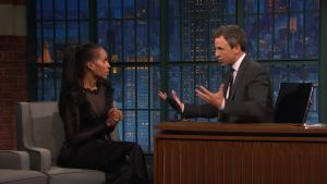 'Late Night': What Kerry Washington Will Miss at 'Scandal'
