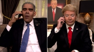 'Tonight': Fallon's Trump Calls 'Obama' After Indiana Win