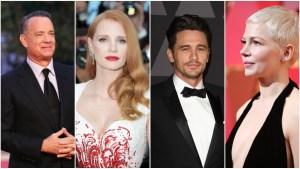 2018 Oscar Noms: Hanks, Chastain, Franco, Williams Snubbed