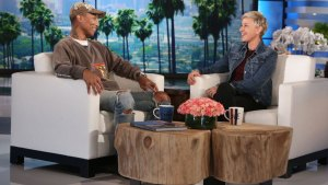 Pharrell Discusses Kim Burrell Anti-Gay Controversy on Ellen