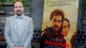 Iran's Farhadi, Absent at Oscars, Pleads for Empathy in Win