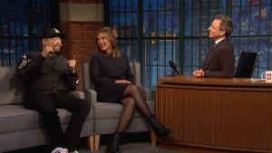 'Late Night': Mariska Hargitay, Ice-T Reflect on 'SVU'