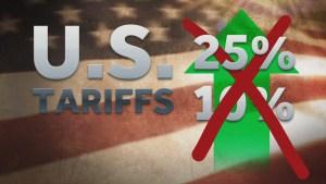 US Raises Tariffs on Chinese Imports by 25 Percent