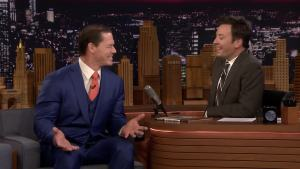 'Tonight': John Cena Talks His Hair and New Movie Moves