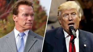 How Arnold Schwarzenegger 'Fired' Back at President Trump